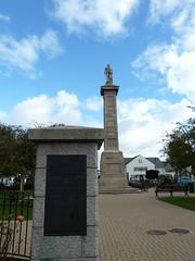 Memorial garden in Comber