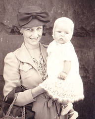 Grandma & Aunty Faye 1943