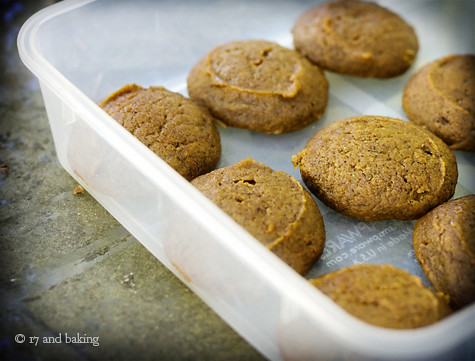 Pumpkin Whoopie Pies with Chocolate Cream Cheese Filling