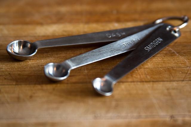 {332/365} measuring spoons