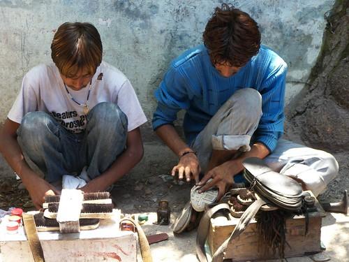 Shoe fixing
