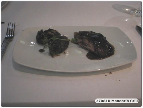 100828 Anniv Dinner @ Mandarin Grill