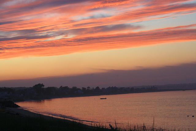 Sunset on Hills Beach