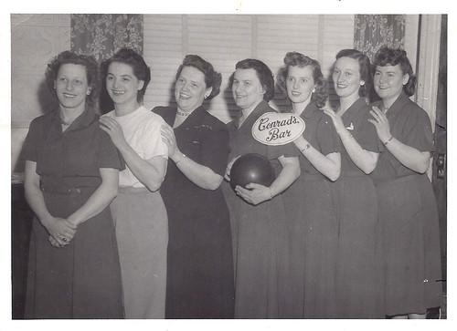 Conrad's Bar Bowling Team