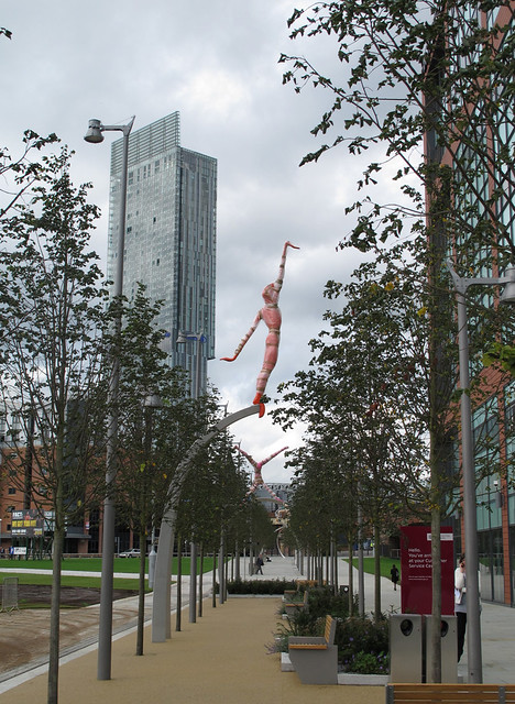 On the edges of Manchester city centre