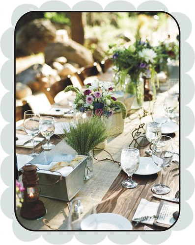 really rustic table