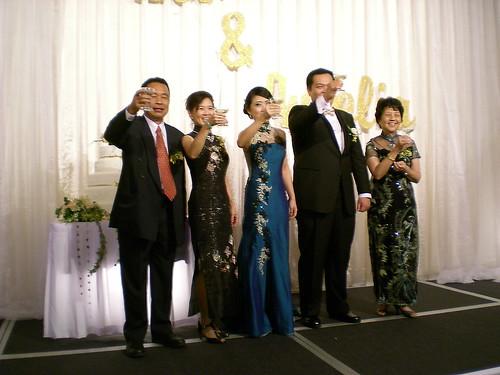 Leo's wedding 2 - The toast
