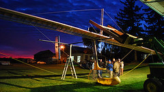 Human-Powered Ornithopter - pilot Todd Reichert and University of Toronto team