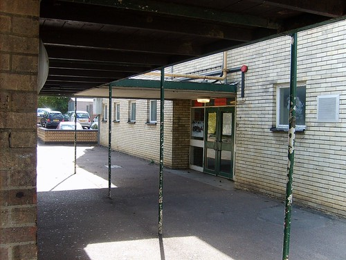 Entrance to Gyms