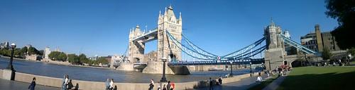 Tower Bridge N8 Panorama