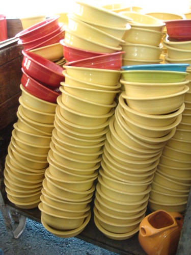 Stacked bowls inside crate by jennifer.m.becker | photography