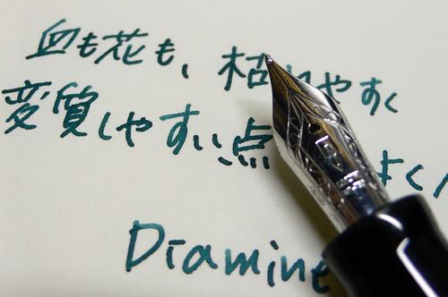 "Diamine Ink ""TEAL"""