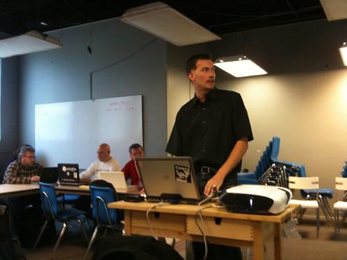 Russell Fair at Ferndale WordPress Meetup