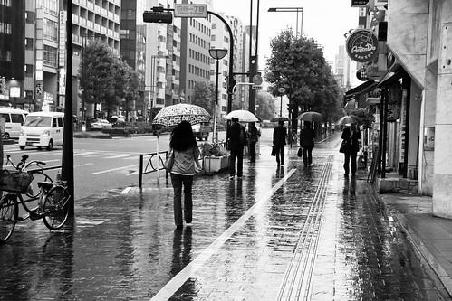Rainy Tokyo Afternoon