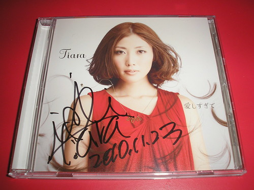 Tiara's signed CD