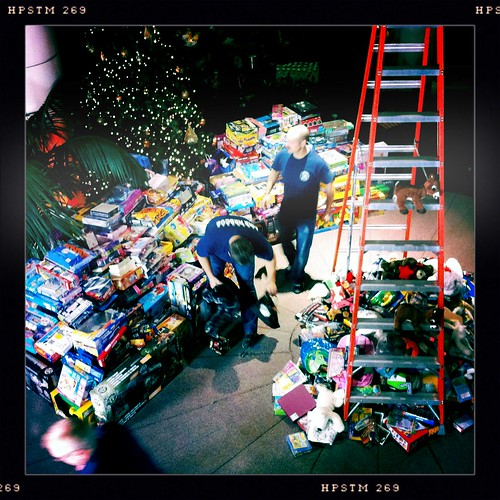 The toys are starting to pile up! #PPVChristmas
