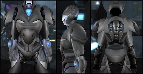 Male Warrior AV - chest