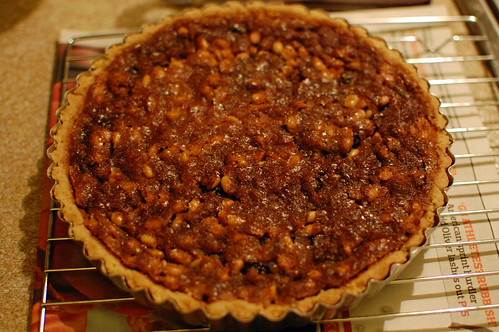 Pine Nut and Currant Tart