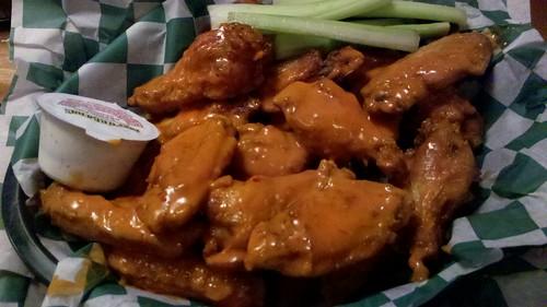"beef o'brady's ""signature buffalo sauce"" wings"