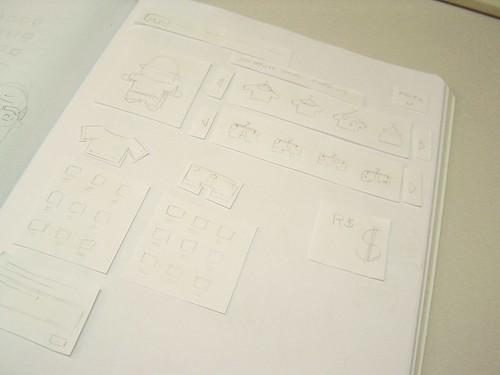 """Protótipo de papel para o editor de mini-mi """"Lilliput"""""""
