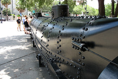 Civil War Submarine H. L. Hunley (Replica)
