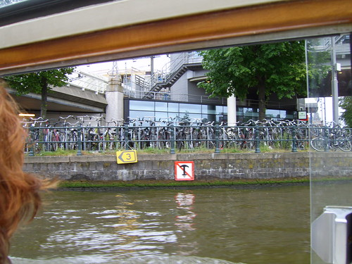 cu vaporasul pe Amstel