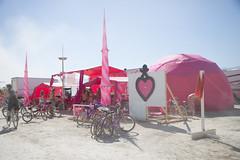Pink Heart Camp - Burning Man 2010