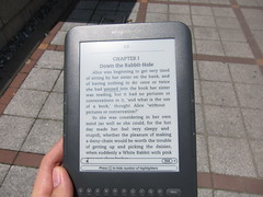 Kindle 3 on Direct Sunlight