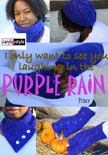 Purple Rain E-book cover