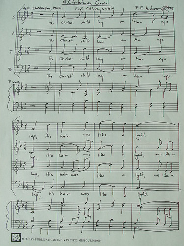 My Music: A Christmas Carol, page 1
