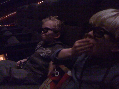 Reuben & Max see a 3D movie