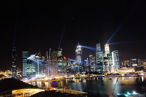 singapore sky line with sony NEX5