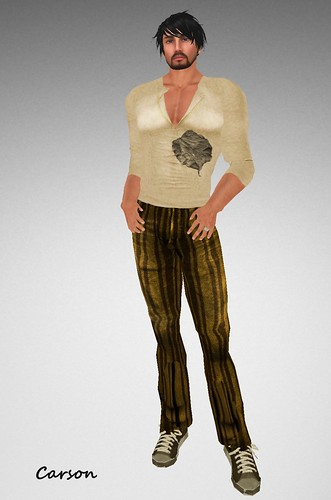 22769 Autumn Longsleeved Shirt and Striped Jeans Fashion Freaks 2 Hunt