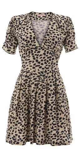 080 - Tea and Cake 50's Dress - Leopard Print