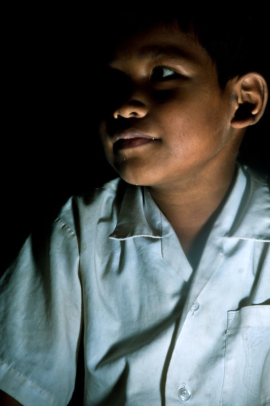 A Boy at PIO Steung Meanchey