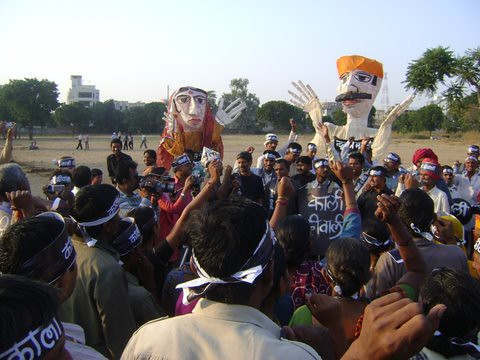 Pics from the satyagraha - 5 Nov 2010 - 23