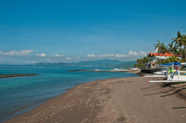 A beach at Candidasa