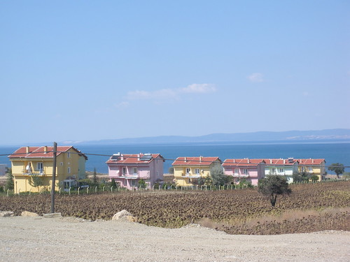 Tourist development on the Aegean coast