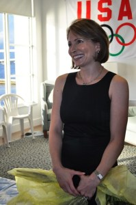 Shannon Miller at Art of the Olympians, Fort Myers, Fla., Sept. 17, 2010
