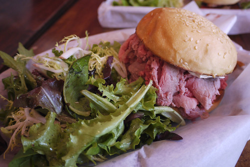 roast beef at Sycamore, the Mission, SF