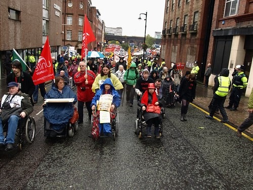disabled people march