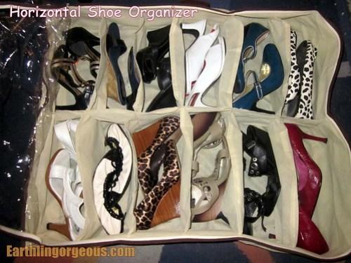 Horizontal Shoe Organizer