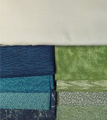 Mystery Quilt Fabrics