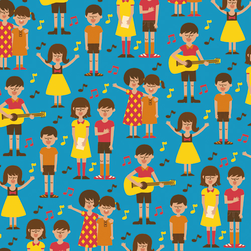 Sing a Song - new pattern