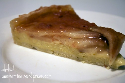 pear crostata
