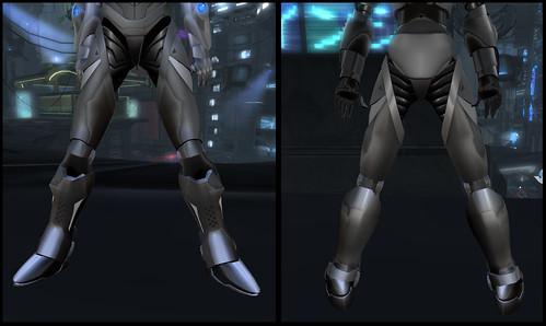 Female Warrior AV - legs