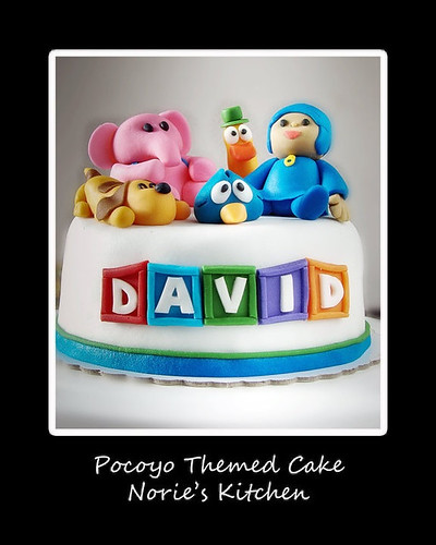 Norie's Kitchen - Pocoyo Themed Cake