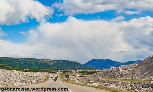 Crowsnest through the Frank Slide
