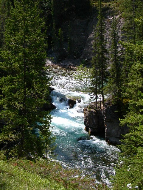 River in the Rockies