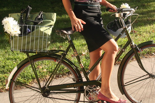 Bikes and Heels
